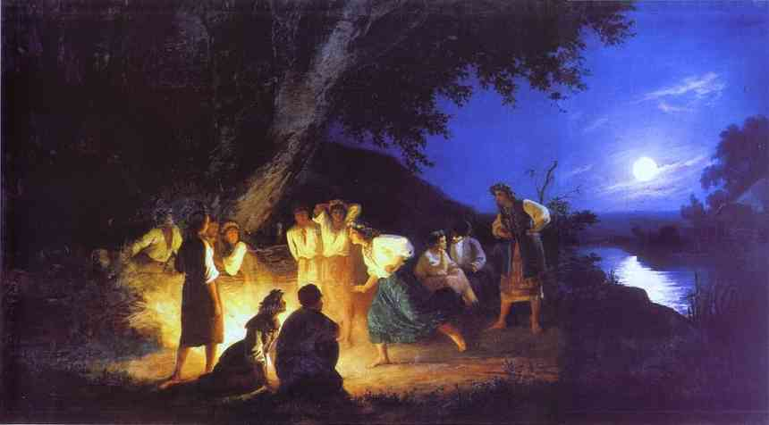 night on the eve of ivan kupala